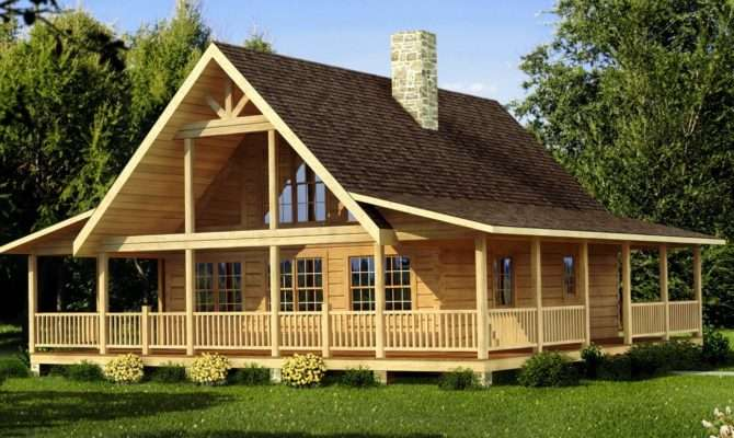 Cabin Floor Plans Porches
