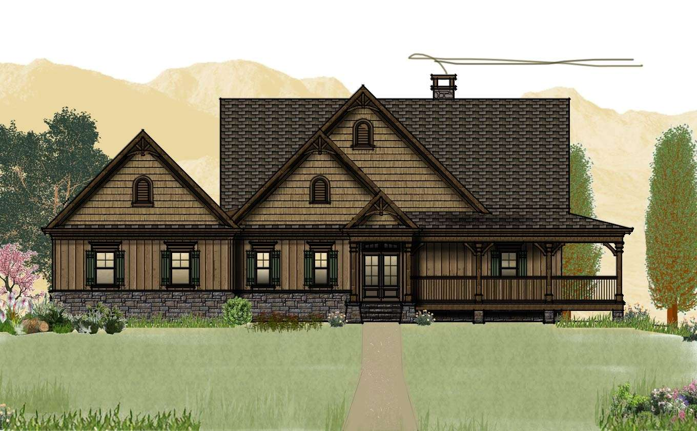 Cabin Floor Plans Porches