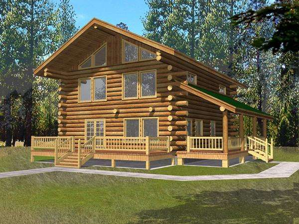 Cabin House Plans Covered Porch Pdf Adirondack Chair