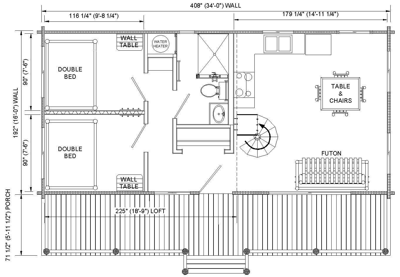 Cabin Plans Home Design