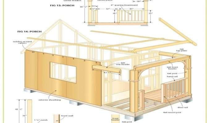 Cabin Plans Loft