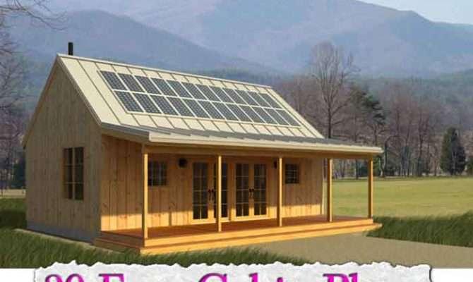 Cabin Plans Tiny House Frame Vacation Gardenfork