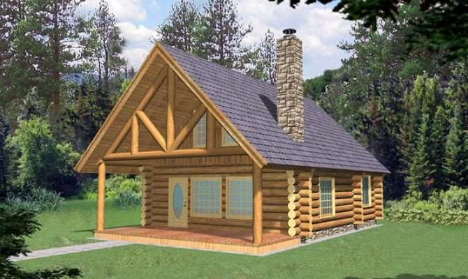 Cabin Style Home Plans Floor