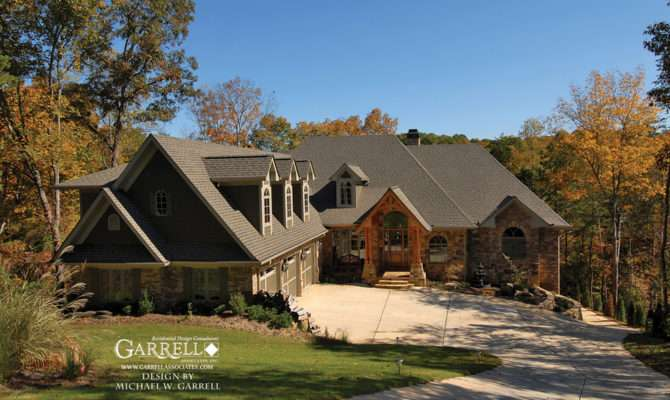 Cabin Style House Plans Small Rustic Mountain Lodge
