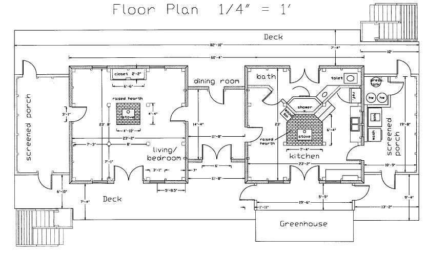 Cad Drawing Below Shows Floor Plan Our House