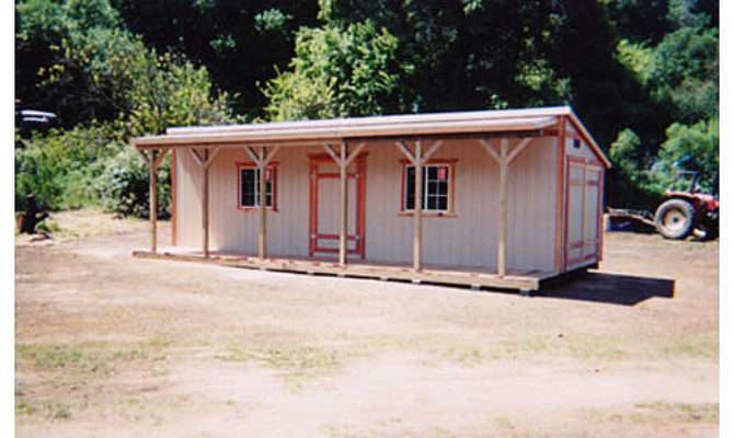 California Custom Sheds Shed Roof Style