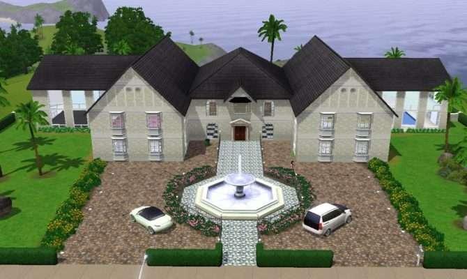 California Mansion Sims Youtube