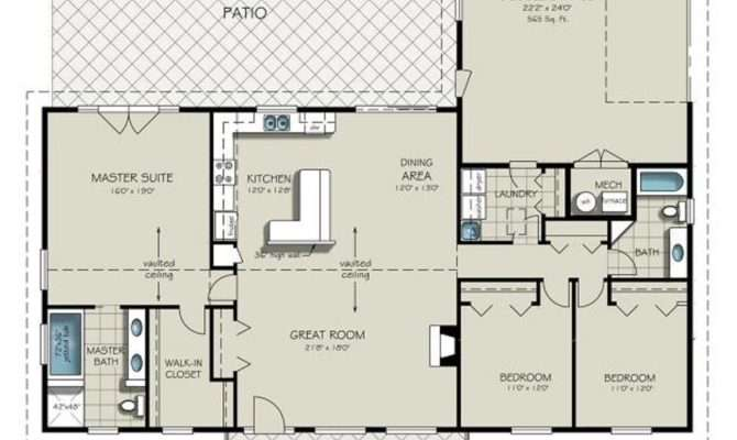 California Ranch Style House Plans Unique