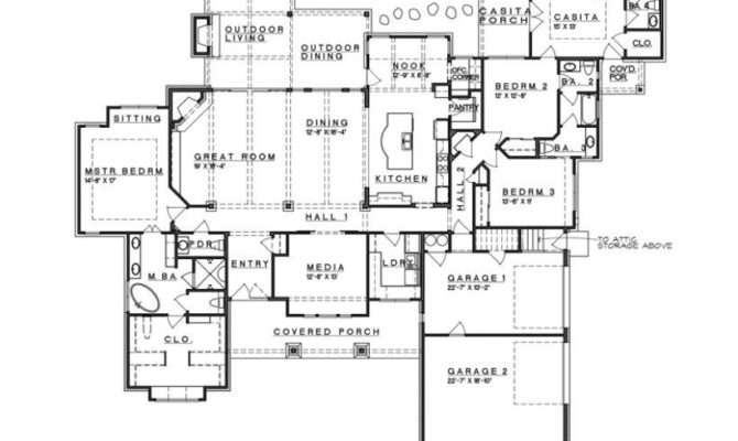 California Ranch Style House Plans