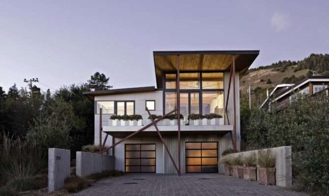 Californian Beach House Designed Design