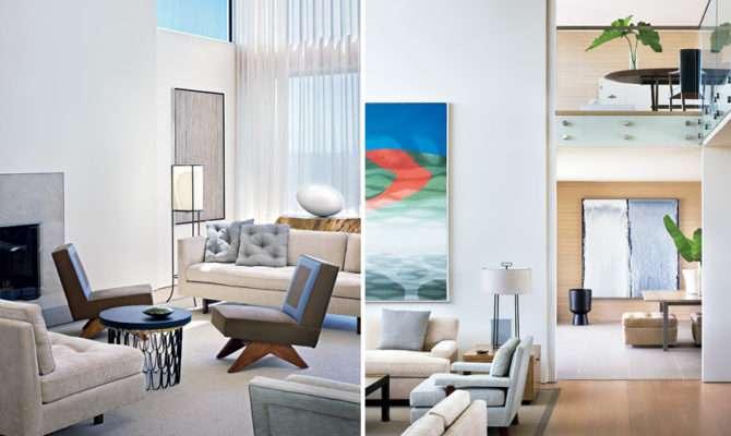 Calm Simple Beach House Interior Design Frederick Stelle