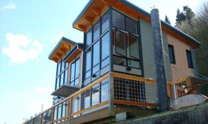 Camano Island Fabcab Timber Frame Prefab Kit House Washington