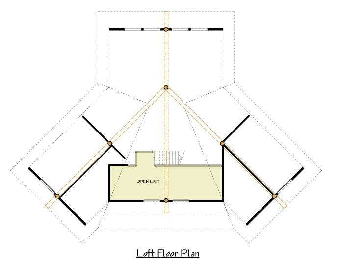 Can Main Floor Plan Loft