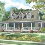 Cape Cod House Wrap Around Porch Maverick Homes