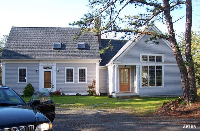Cape Cod Style Home Addition Plans