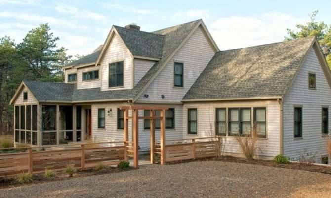 Cape Cod Style House Additions Woods Home Pinterest
