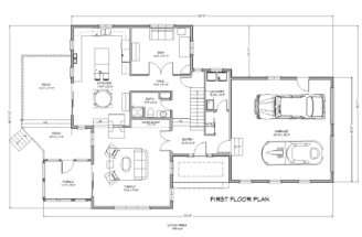 Cape Lake House Plan Bedroom Traditional