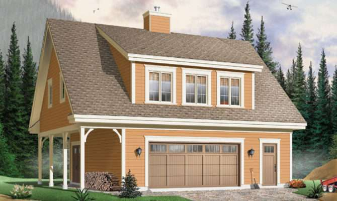 Car Garage Apartment Plan House Plans Home Designs