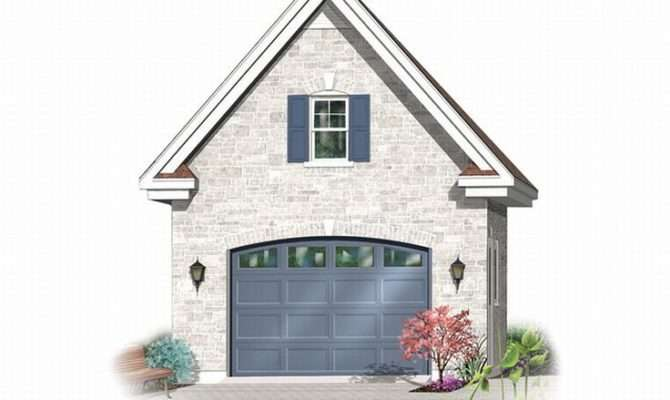 Car Garage Plans Detached One Plan