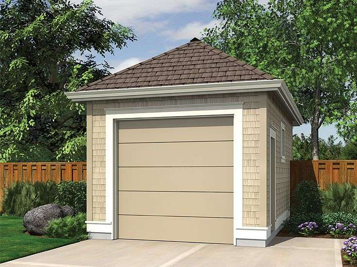 Car Garage Plans Single Plan