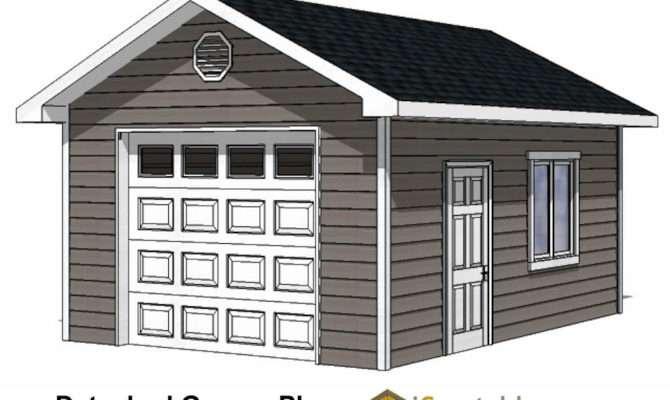 Car Garage Plans Storage Building Outdoor Sheds