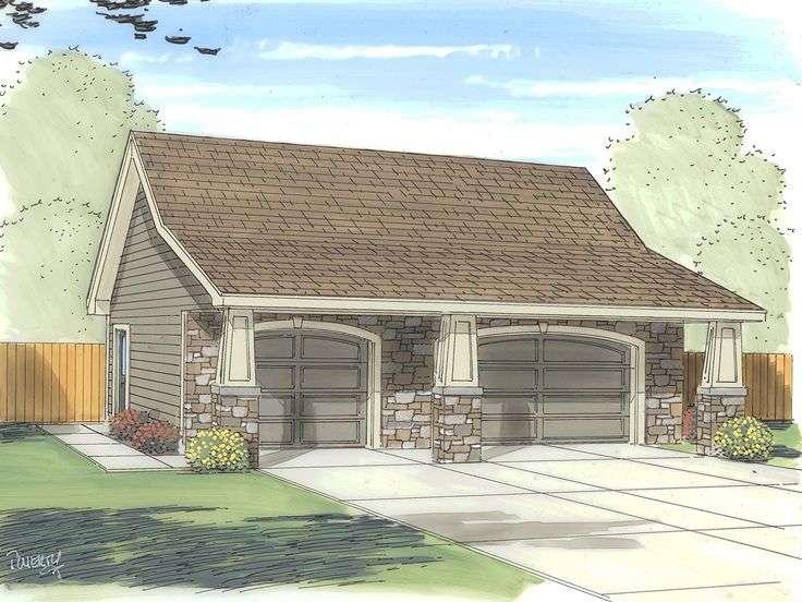 Car Garage Plans Three Plan Craftsman