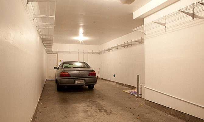 Car Tandem Garage Plenty Storage Space
