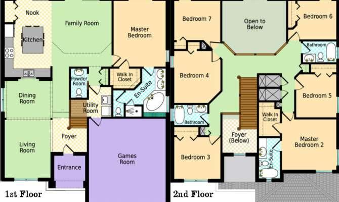 Carla Luxury Villa Floor Plan Jane Alan Lafrance