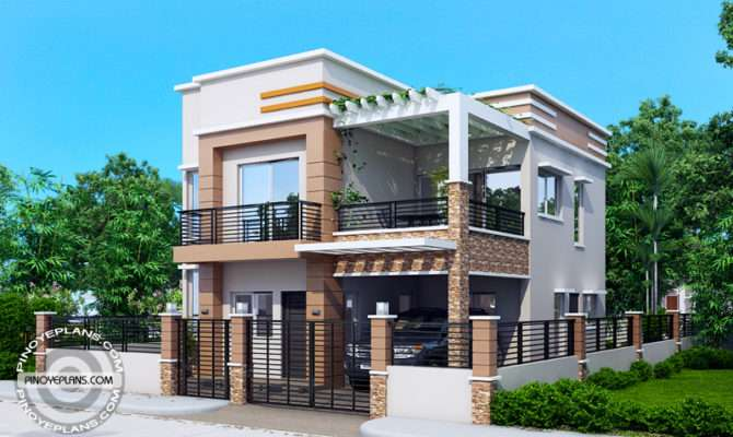 Carlo Bedroom Story House Floor Plan Pinoy Eplans