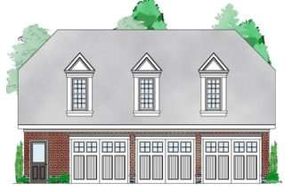 Carriage House Plans Car Garage Apartment Plan