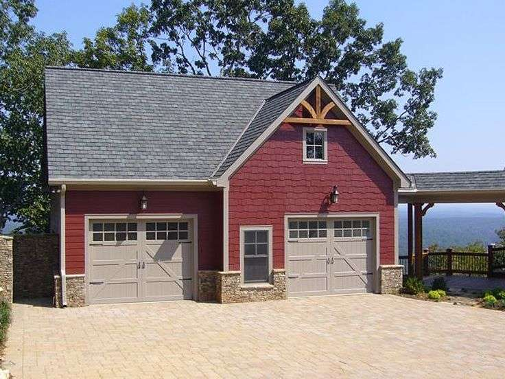 Carriage House Plans Car Garage