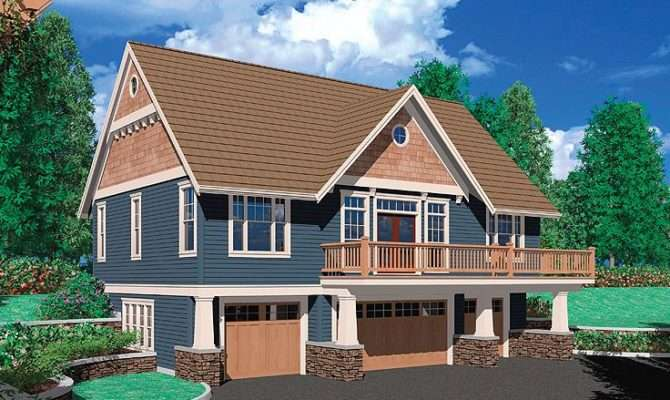 Carriage House Plans Craftsman Style Plan Car