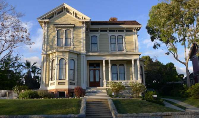 Carroll Avenue Victorian Homes Echo Park Cool