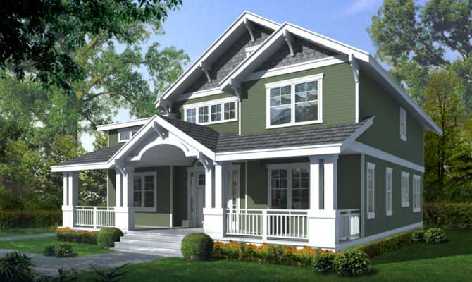 Carters Hill Craftsman Home Plan House Plans More