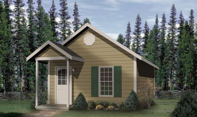 Cashman Vacation Cottage Home Plan House Plans More