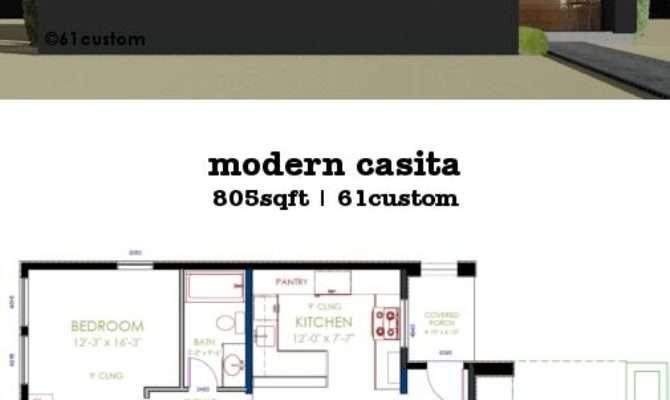 Casita Plan Small Modern House Plans
