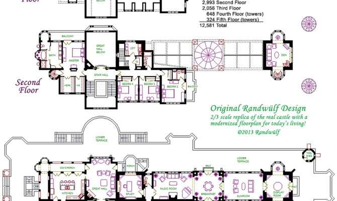 Castle Floor Plans Stunning Plan