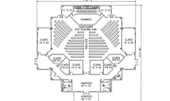 Cds Church Plans Sample Plan Floor