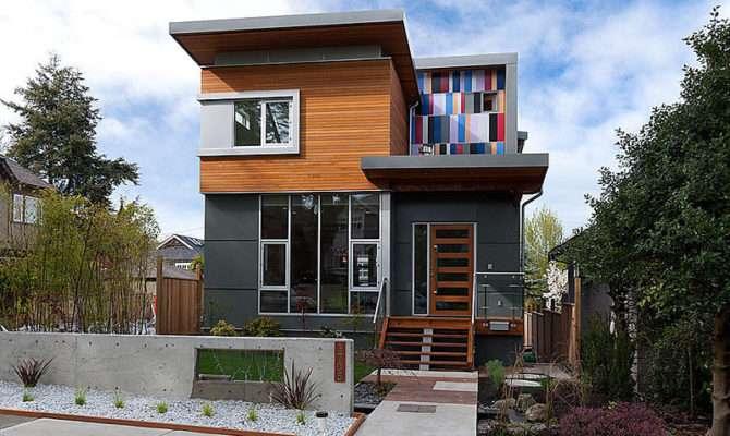 Cedar Cladding Modern Vancouver Houses