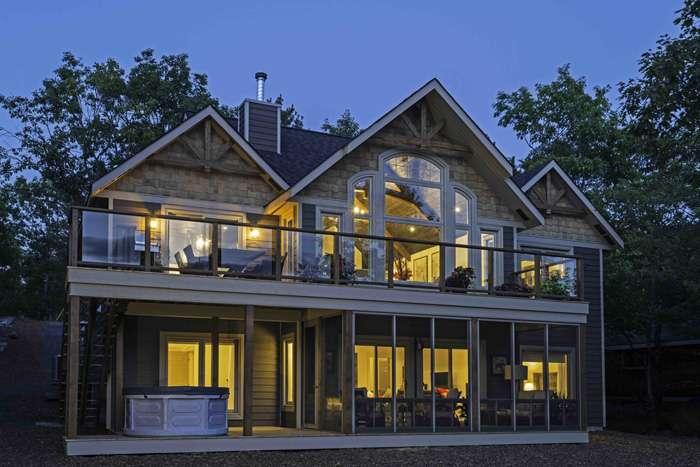 Cedar Homes Loon Lake Plan Month Custom