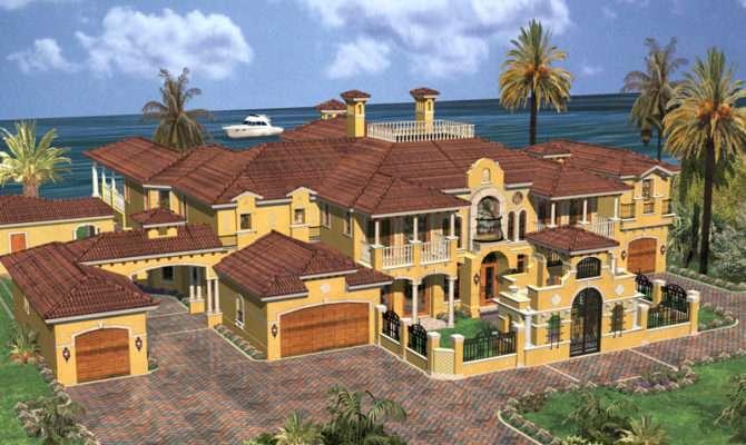 Cedar Palm Luxury Florida Home Plan House