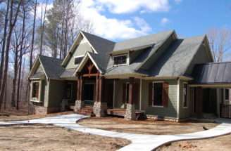 Cedar Ridge Months Later Modern Craftsman Style Home