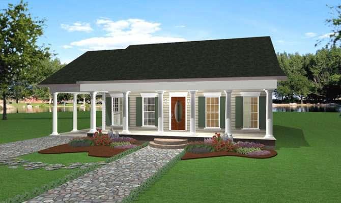 Cedar Run Southern Style Home Plan House Plans