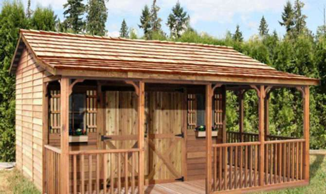 Cedarshed Farmhouse Shed Shipping