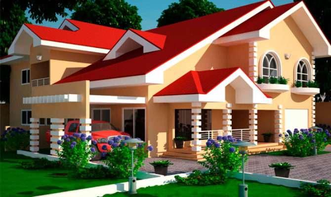 Ceiling Drawing Room Modern Building Plans Ghana House