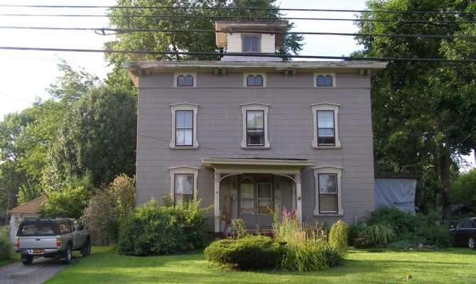 Central New York Italianate Style Houses Syracuse Eastside