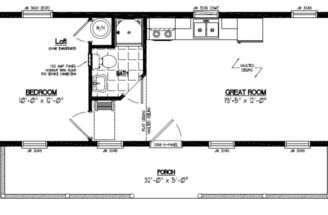 Certified Floor Plan Cape Cod