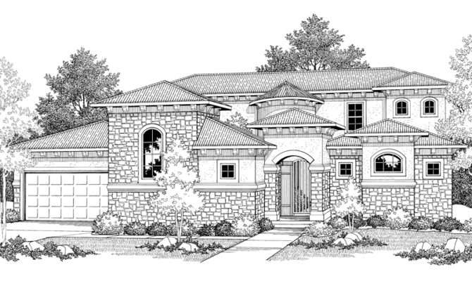 Cervantes Santa Style Home Plan House Plans