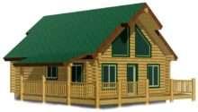 Chalet Cabin Plans Joy Studio Design Best