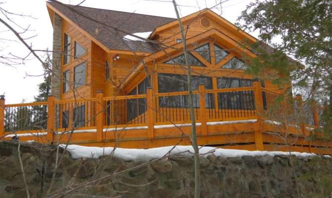 Chalet Confederation Log Timber Frame